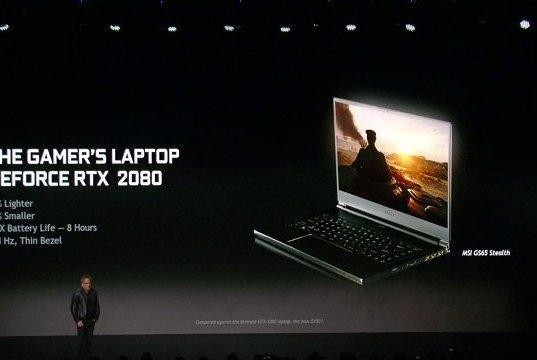 NVIDIA, Laptopları Yeni Turing GPU Mimarisiyle Güçlendiriyor