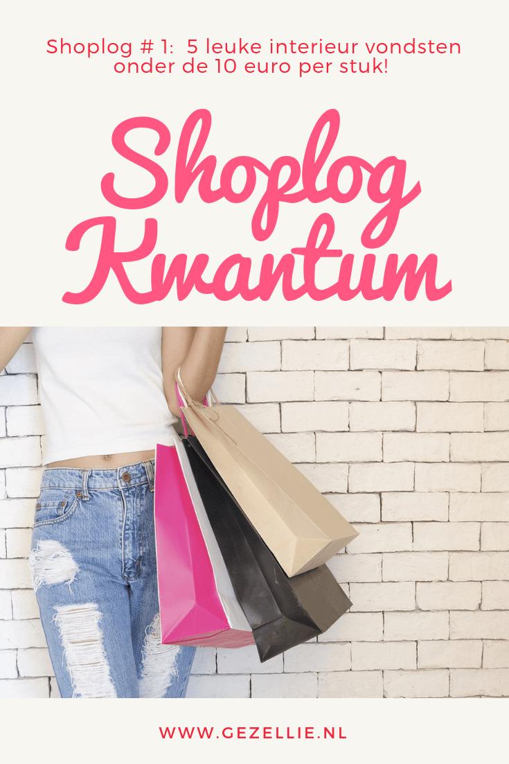 Kwantum Shoplog 5 leuke interieur vondsten