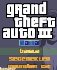 GTA3 Trke Yama Ekran Grnts Gezginler