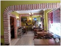 Rustik Kafe içi