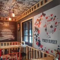 The Poker Burger iç mekan
