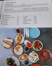 Bomonti Moda kahvaltı