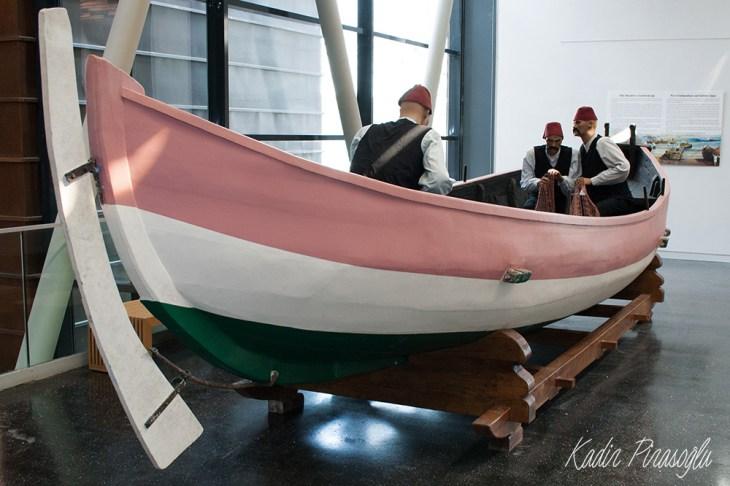 İstanbul Deniz Müzesi - İnebolu Kayığı