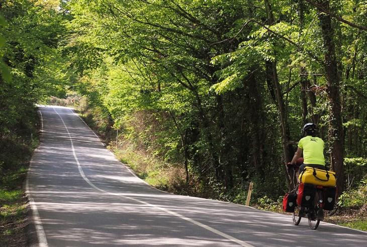 İstanbul'dan kaçış bisiklet rotaları - Ahmetli Kızılca arası