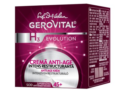 Gerovital Evolution Anti-Aging Nacht Crème Intense Restructuring