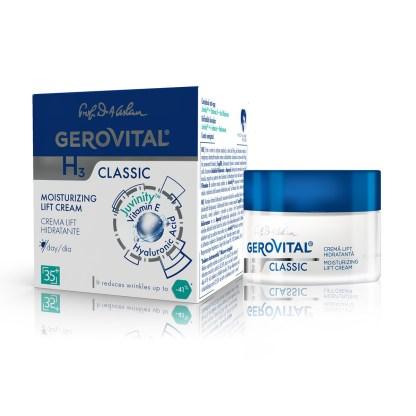 moisturizing lift cream gerovital classic