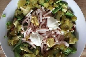 Koolhydraatarme salade