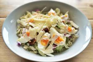 Recept gezonde Ceasar salade