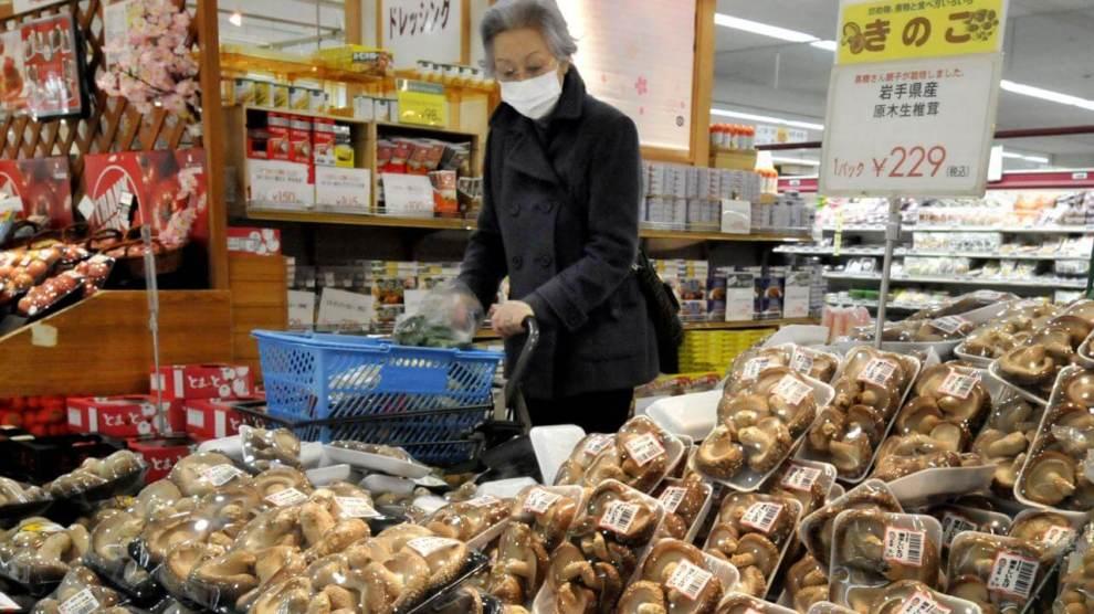 Japanse paddenstoel