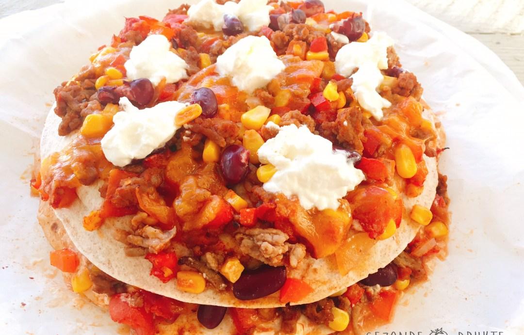 Tortillataart uit Mexico Mexicaans gezonde drukte