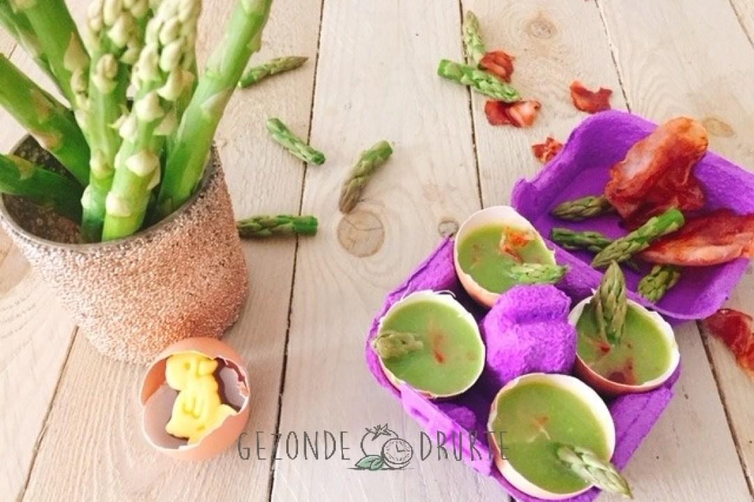 groene aspergesoep Gezonde Drukte