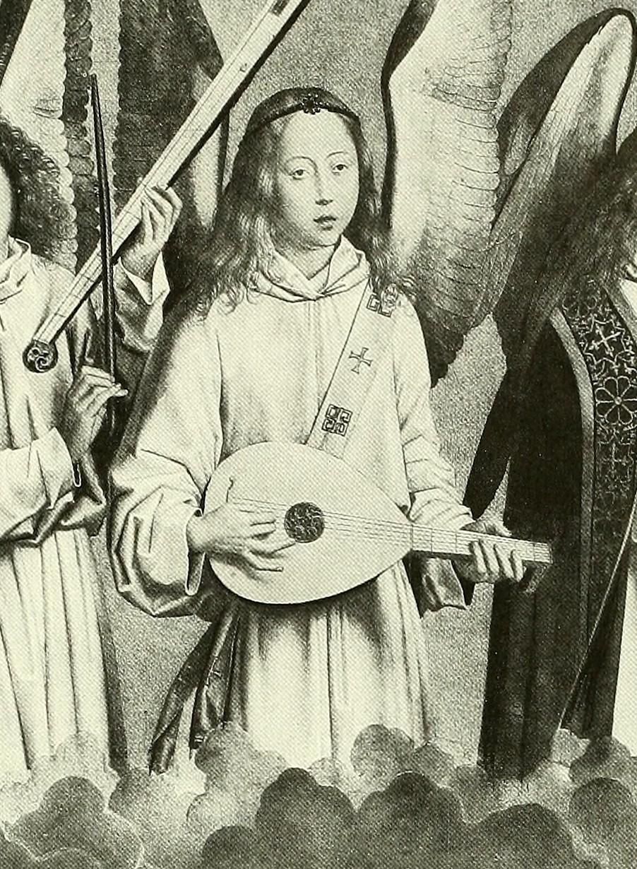 Hans Memling : Concert of Angels (Ausschnitt)