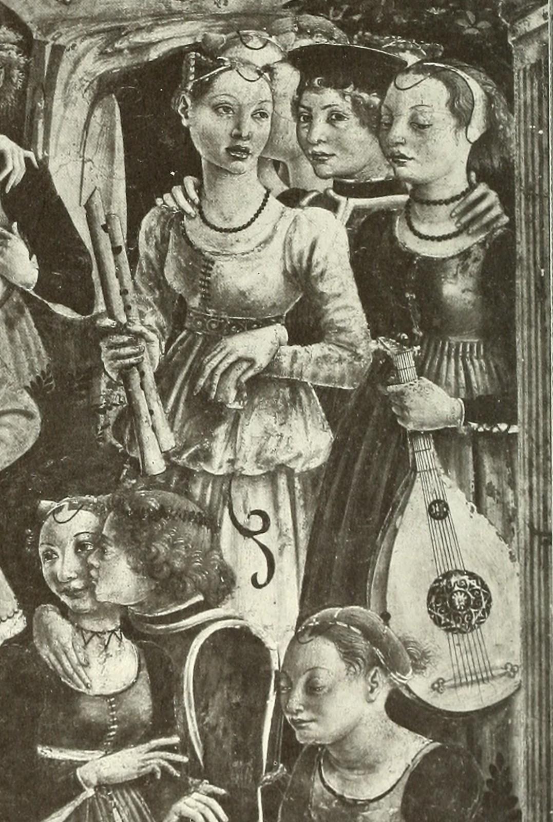 Francesco del Cossa: Triumph of Venus, ca. 1470 (Ausschnitt)