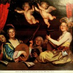 Gerard van Honthorst: Concert (chitarrone and lute)