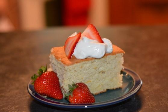 gluten free chiffon cake