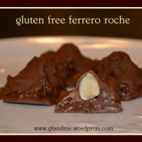 ferrero rocher copycat recipe (and it's gluten free)