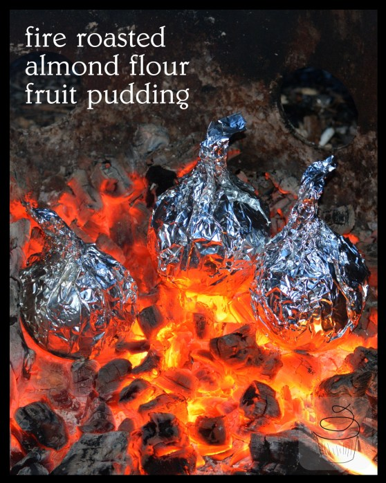 fire roasted almond flour gluten free pudding