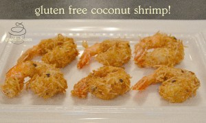 gluten free coconut shrimp recipe