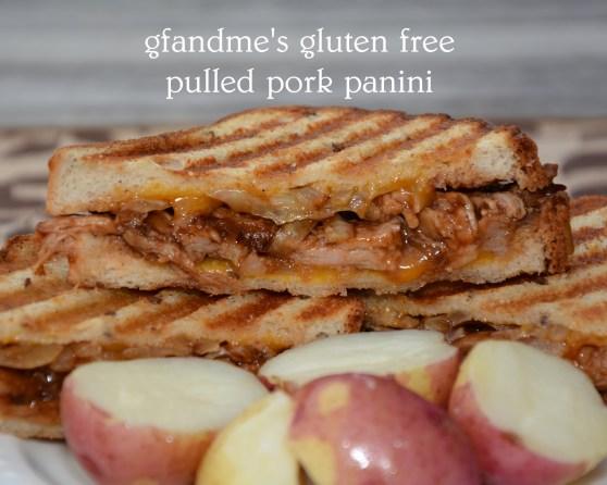 pulled pork panini gluten free