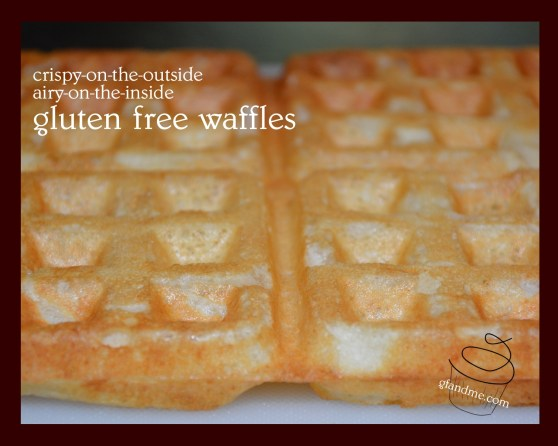 almond flour gluten free waffles. gfandme.com