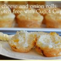 gluten free cheese and onion rolls: soooo easy to do