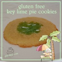 key lime pie cookies - and they're gluten free!