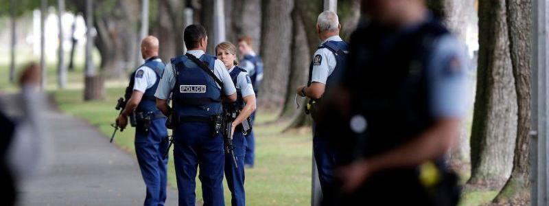 Suspected terrorist killed after stabbing six people in New Zealand supermarket