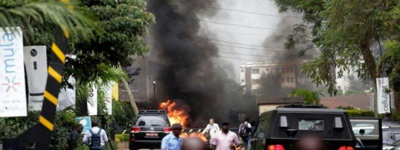 British man and American woman among 14 people killed in Kenya hotel rampage claimed by al-Shabaab terrorist group