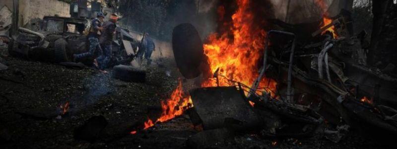 ISIS car bomb at market near Mosul killed six people