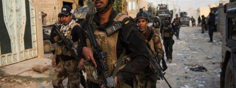 Iraqi army forces seized a huge amount of a highly explosive material in Nineveh