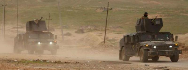 Iraqi army forces capture ISIS bomb expert