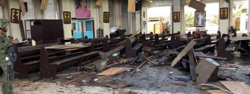 Islamic State behind lethal Philippine church bombing