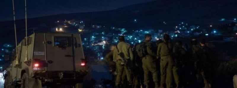Israel army forces seizes illegal arms and terror funds in Qabalan