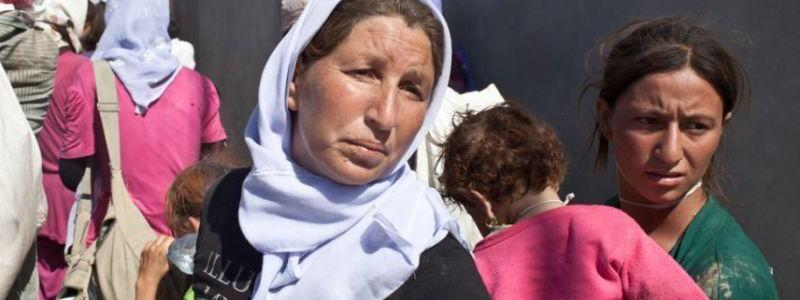 Two Kurdish Yezidi girls freed from ISIS captivity