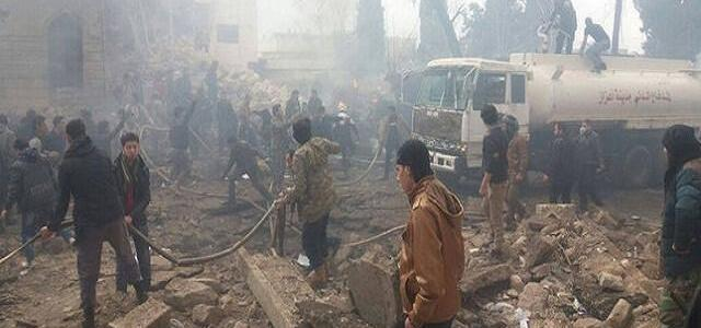 At least 60 people killed in truck bomb attack in northern Syria's town of Azaz