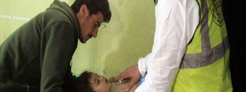 Chemical attack kills dozens of civilians in Syria