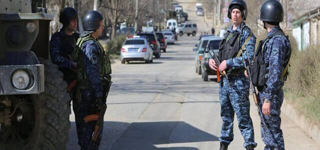 Detained a criminal ring suspected of ISIS connections in Dagestan