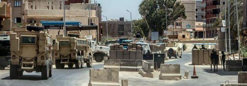 Egyptian police kill 12 suspected terrorists in northern Sinai