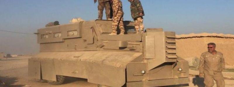 Hashd Al-Shaabi beats back ISIS along Syrian border