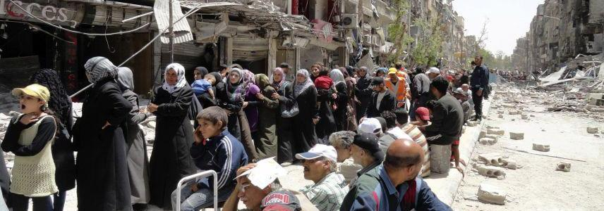 ISIS armed units in Yarmouk refugee camp in Damascus completely eliminated