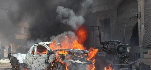 ISIS car bomb kills 12 FSA fighters in Syria's city Al-Bab