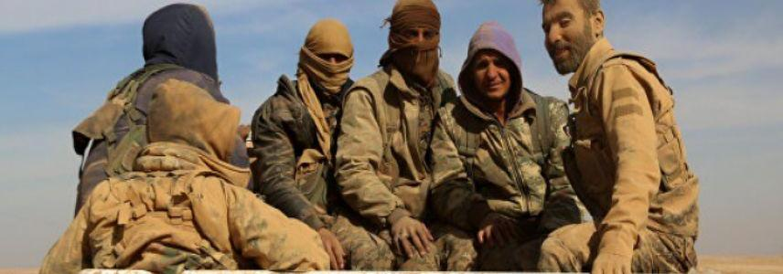 ISIS conduct military operation and the Syrian forces suffer fatalities in Raqqa