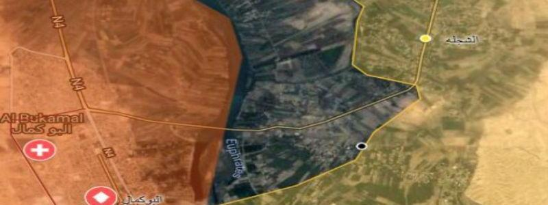 ISIS squeezed into last areas as SDF troops capture two villages east of the Euphrates