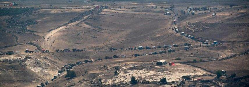 ISIS terrorists encircled in the southern Syrian volcanic field