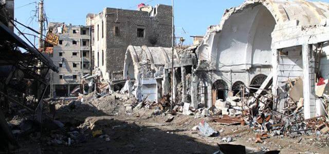 ISIS terrorists shell Syrian city of Deir ez-Zor wounding dozens of children