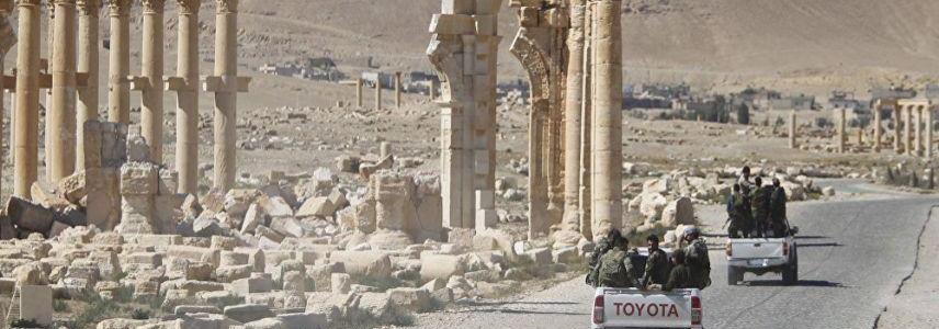 ISIS terrorists launched major new offensive in direction of Palmyra