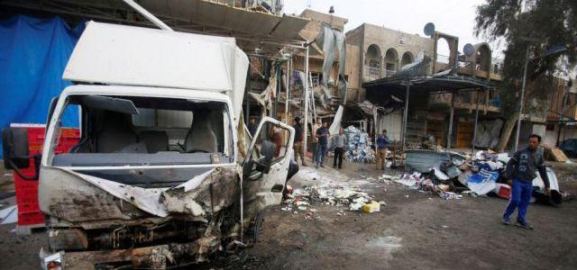 Islamic State claims responsibility after 27 killed in Baghdad blast