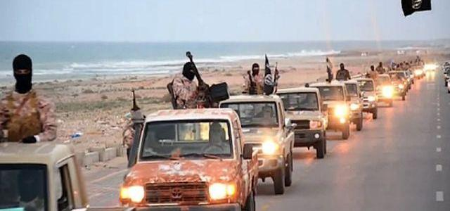 Islamic State Group militants are fleeing Iraq and Syria and may move to Libya