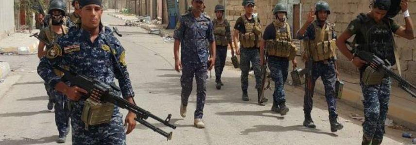 Islamic State terrorists killed in confrontations against Federal Police west of Mosul