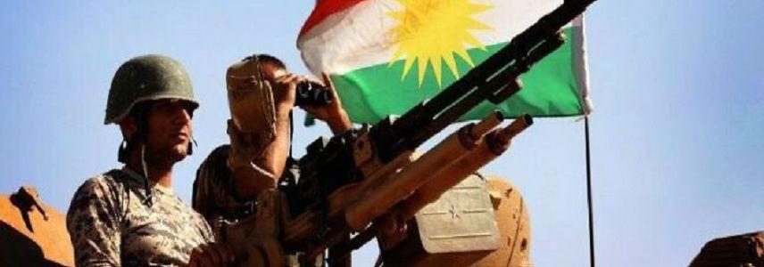 U.S. forces and Peshmerga fighters trapped by Islamic State terrorists in Salahuddin